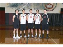 2017 Varsity Boys Volleyball Seniors