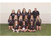 2017-18 sophomore Girls Volleyball