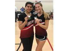 2018 State Qualifiers      Soha Khan and Jill Klatt