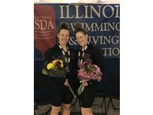 Congratulations to Jessica Davis who finished 3rd in the 200 free and 8th in the 100 free and Kali Franckowiak on her 7th place finish in the 200 free!