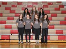 2018-19 Girls Track Seniors