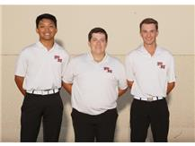 2019-20 Varsity boys golf seniors