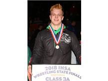 Matt Hennessey 1st place  2018 State Champion