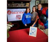 National Signing Day Sydney Cangilla - Grand Valley State