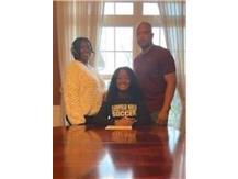 National Signing Day Lauryn Tillmon - Purdue Northwest University