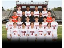 Varsity Boys Soccer Spring 2021