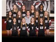 Varsity Girls Volleyball Spring 2021