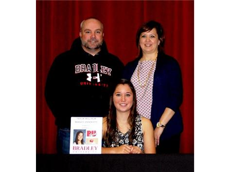 Taylor Willhalm Signs letter of intent for