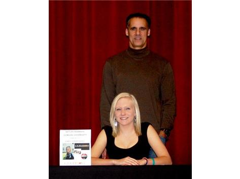 Katlyn Federico signs letter of intent to play Women's Volleyball with Clemson University
