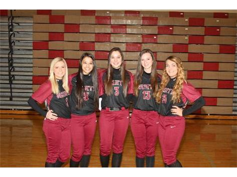 2014 Softball Seniors