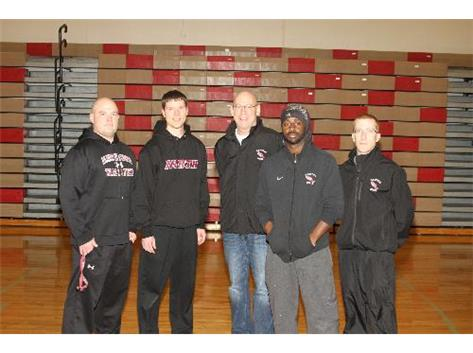 2014 PNHS Boys Track Coaching Staff