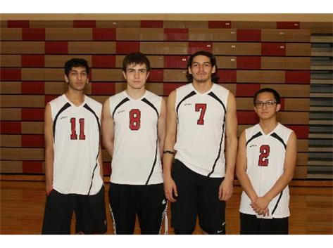 2014 PNHS Boys Volleyball Seniors