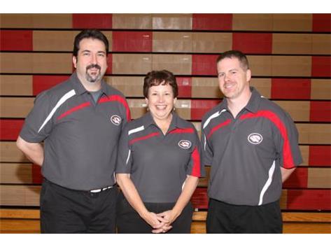 2014-15 Boys Bowling Coaches Brian Dunn, Nancy Kolb-Puglisi and Ross Carmody