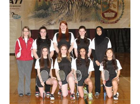 2015 Varsity Badminton