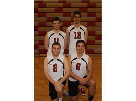 2015 Varsity Volleyball Seniors