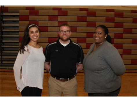2015 Coaches- Coach Burton; Coach Dellamorte and Head Coach Tracey Marshall