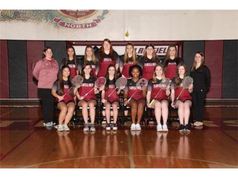 2016 Varsity Girls Badminton
