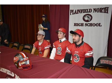 Kevin Block, Johnny Goodson, JJ Frey- St. Xavier Football