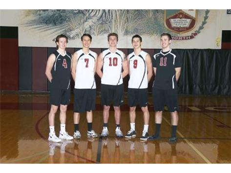 2017 Varsity Boys Volleyball Seniors