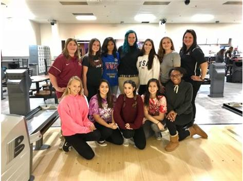 2017-2018 Girls Bowling Team