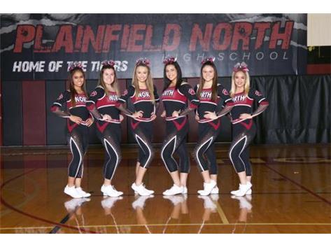 2017-18 Varsity Winter Cheer Seniors