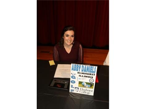 2017 November National Signing Day - Abby Daniels