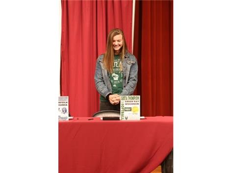 2017 National Signing day Nov.8th - Greta Thompson