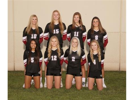 2019-20 Varsity Girls Volleyball Seniors