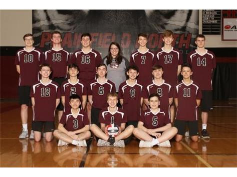 2020 JV Boys Volleyball