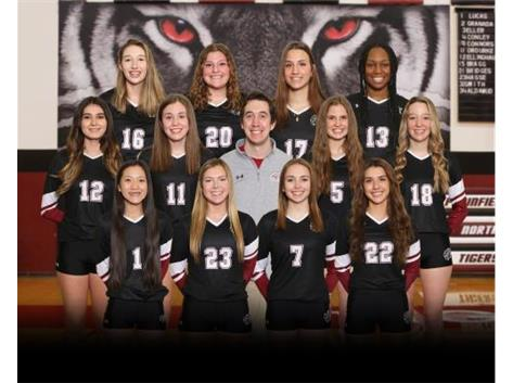 Varsity Girls Volleyball Spring 2021
