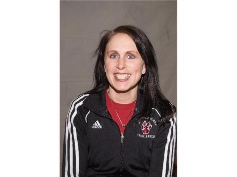 2013 Head Girls Track Coach Ms. Tammy Gummerson