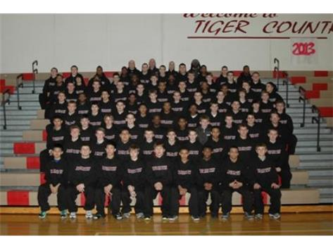 2013 Varsity Boys Track Team