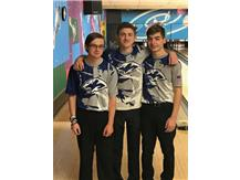 2017-2018 IHSA Sectional Qualifiers.  Austin Griffith-Regional Champion(1443 series), Christian Knowlton, and Cody Gleim.
