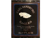 2nd Place, Sandburg Invite 12-8-18