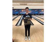 Braden Kidd finished 3rd at IHSA Regionals, 1/12/19