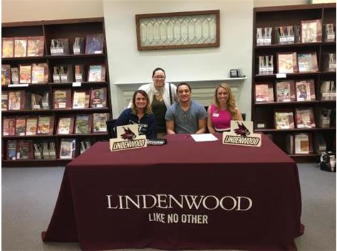 Nate Signing Day - Cheer Lindenwood University