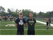 Brock O'Neill 1st place and Gabe Spesia 9th place