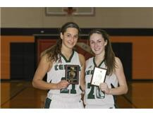 Lauren Knight-MVP of Tourney Ryann Ogarek-All-Tourney