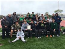 CONGRATULATIONS TO THE BOYS TRACK TEAM WHO FINISHED AS RUNNER UP IN THE 14 TEAM CHICAGO CATHOLIC LEAGUE CONFERENCE TRACK AND FIELD MEET!