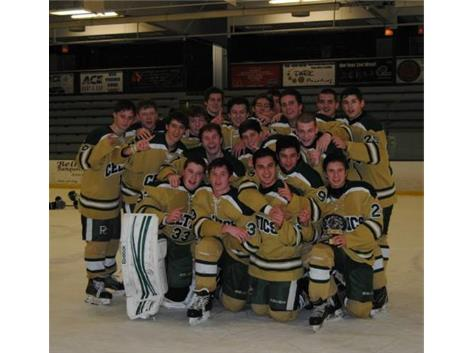 PC Varsity Hockey - Chicago Blackhawk Charities Tournament Champions!