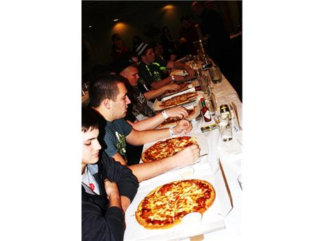 Mancuso Pizza Eating Contest