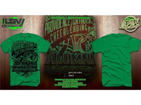 PC Cheer Alumni Tee Shirt -- Celtics are Forever!  Email Coach Duesing if you would like to order a cheer alumni shirt.