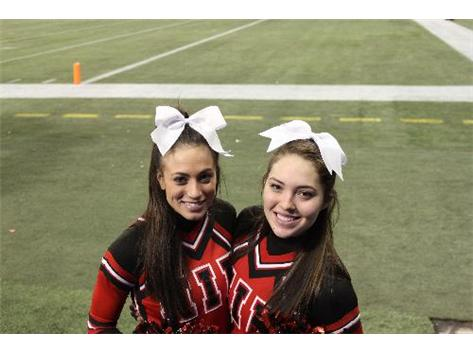 Nichole Jazo (Class of 2006) and Cortney Delegan (Class of 2007) -- Northern Illinois University Coed Cheerleaders