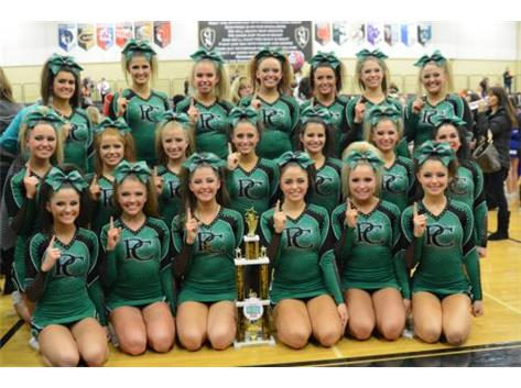 Celtics take first place at the 2015 GLN competition.