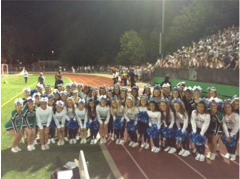 2015-16 PB&JC Collection with the JCA cheerleaders at the Aug. 28, 2015 JCA vs. PC football games.