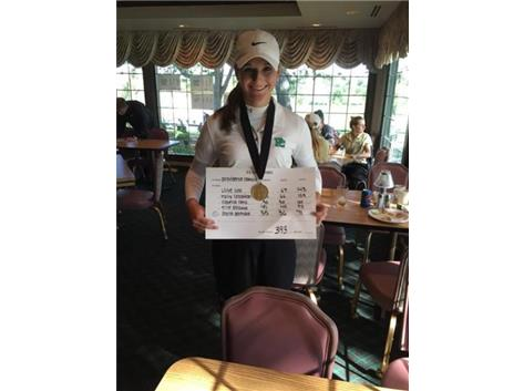 Alyssa Gromala was the medalist at the Oak Forest Invitational with a 71.