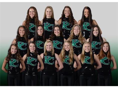 2015-16 Varsity Dance team
