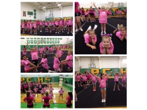 2015 Columbus Day Cheer Clinic and Breakfast Food Drive