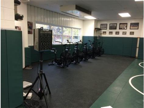 Just delivered new exercise bikes in the room