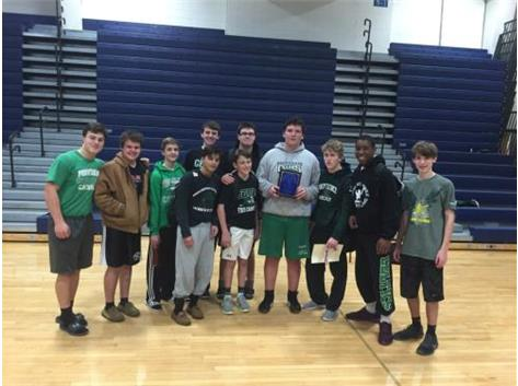 Congrats to the JV Wrestlers who took 2nd place at the Wheston North Sophomore Tournament